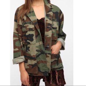 Camo Army Utility Jacket